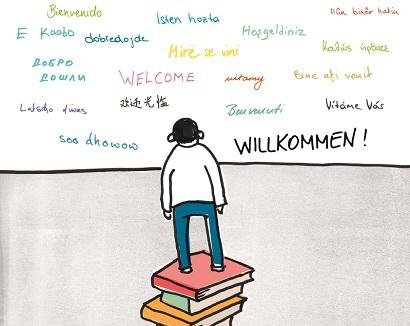 Grafik der Aktion des Büchereiverbandes Österreich © 2015