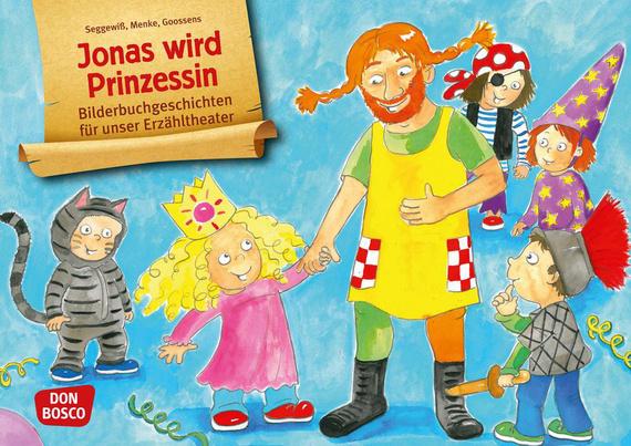 Jonas wird Prinzessin Grafik
